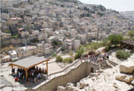Silwan seen from the archeological site