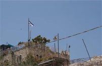 An Israeli settlement in Silwan