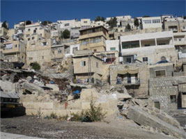 Silwan house already demolished