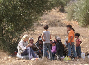 Yanoun villagers